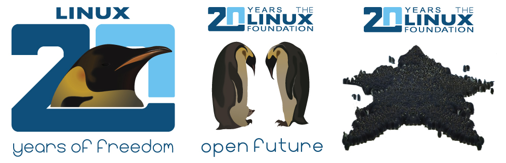 Linux 20 Years of Freedom Graphic