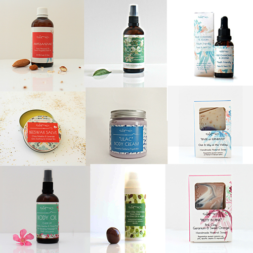 Soma beauty products packaging